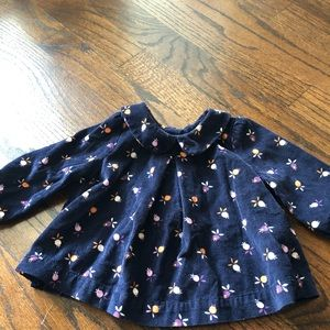 Baby Gap blue top 3-6 month